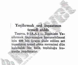 10-temmuz-1954-yesilirmak-set-insaati